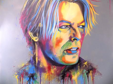 David Bowie by Eva Bazhenova