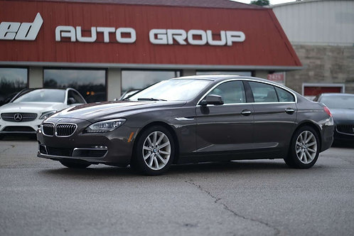 2015 BMW 6 Series 640i xDrive