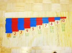 Montessorivälineitä