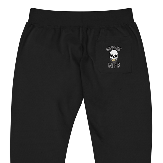 Unisex fleece sweatpants - Skull