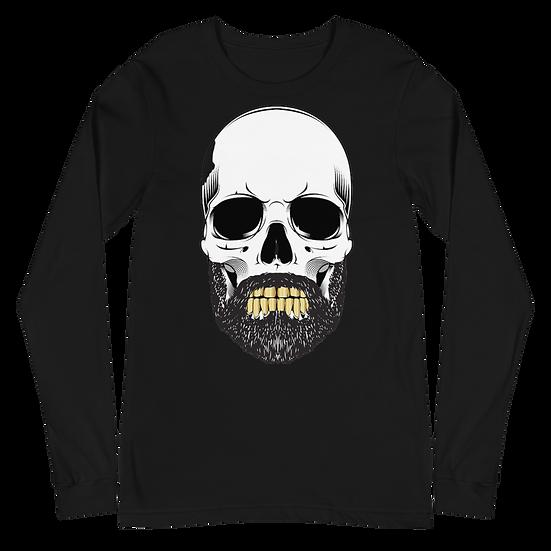 Unisex Long Sleeve Tee - Skull