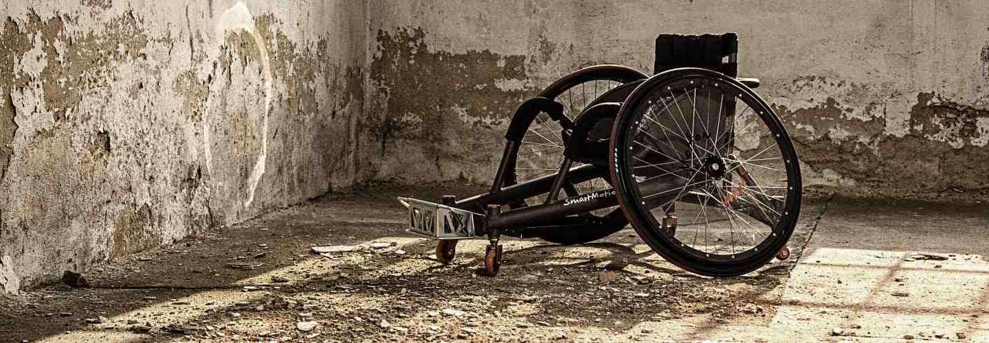 rugby vozík pro tělesně postižené