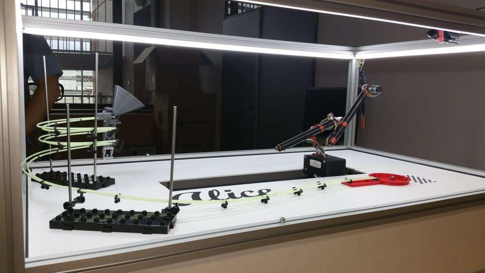 Robotický demonstrátor