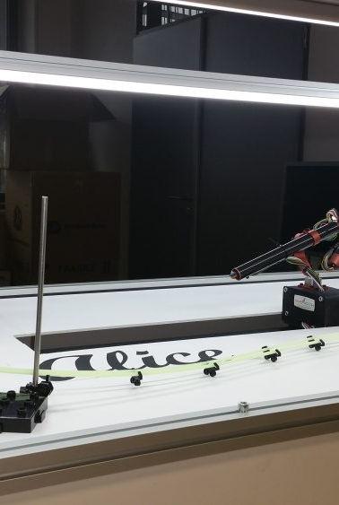 Demonstrační robot