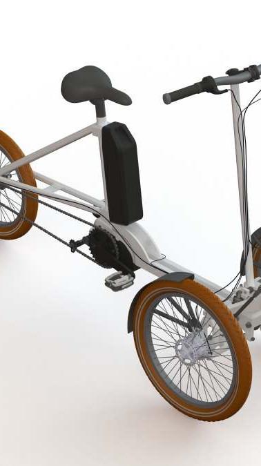 tříkolka s elektrickým pohonem