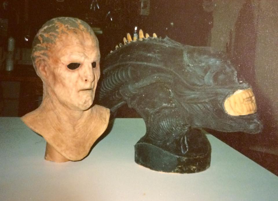 Originally Alien Stunt Mask Prop