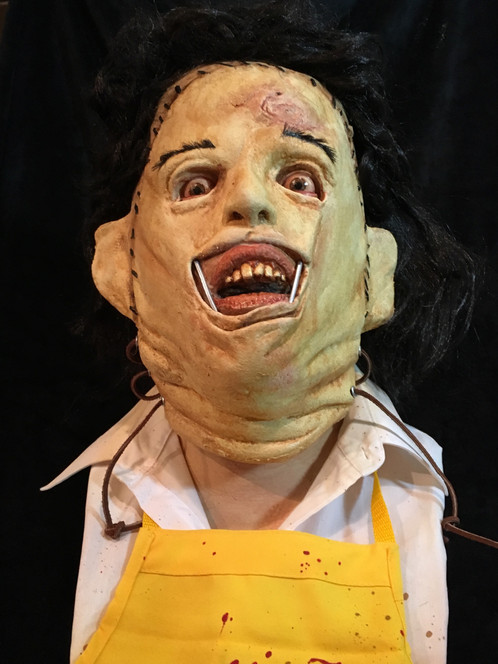 leatherface display bust