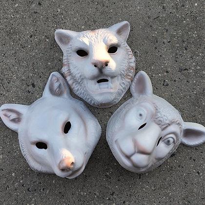 You're Next Mask Set: Fox Sheep Tiger