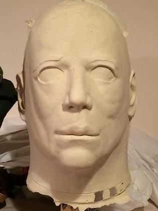 Blank Halloween Myers Mask