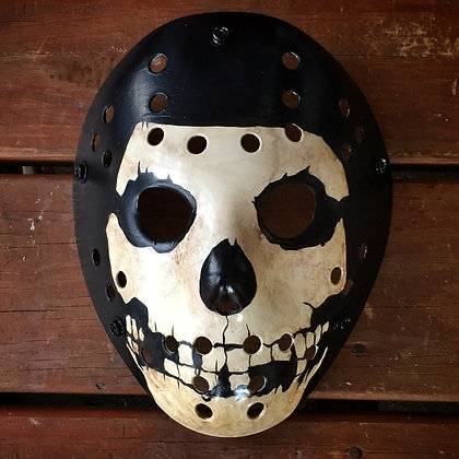 Crimson Ghost Hockey Mask