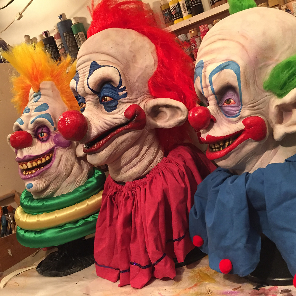 Killer Klowns Display Mask Bust