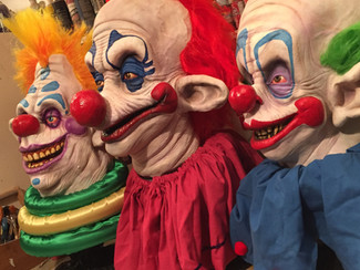 Killer Klowns from Outer Space busts.