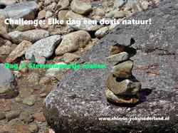 Challenge dag 7: Steenmannetje