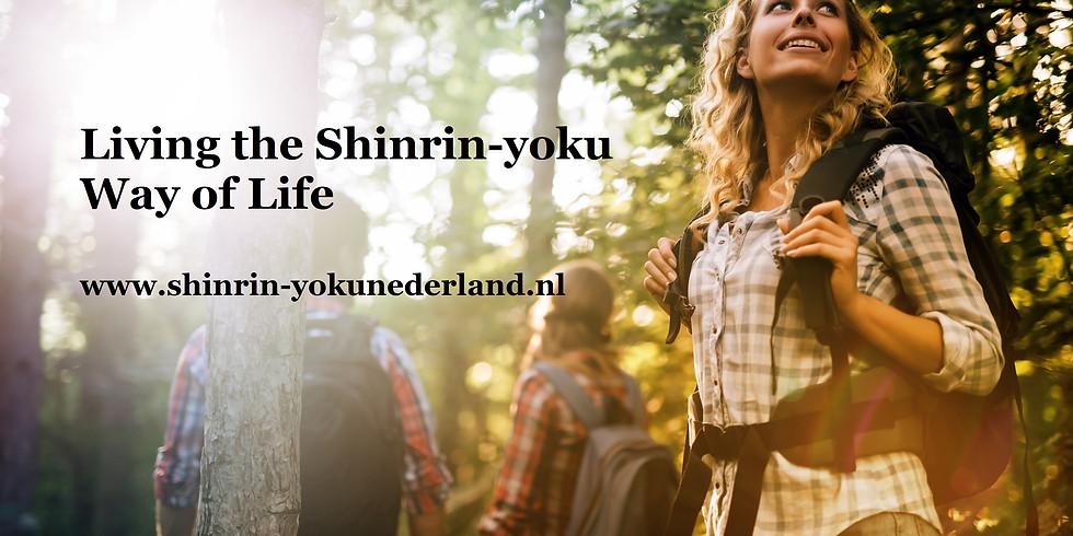 Jaarprogramma Shinrin-yoku Way of Life