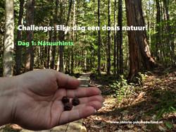 Challenge dag 1: Natuurhints