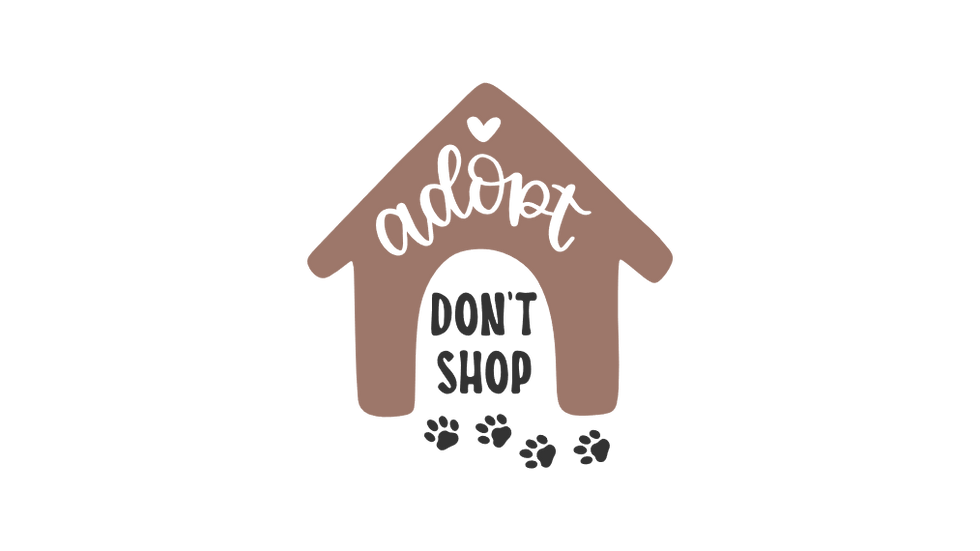Adopt Don't Shop Design