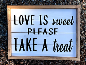 Love is Sweet, Take a Treat.png