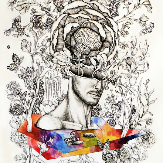 Haris Rashid, Exposition, 105 x 75 cm, P