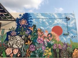 Mural for Toppen Shopping Centre