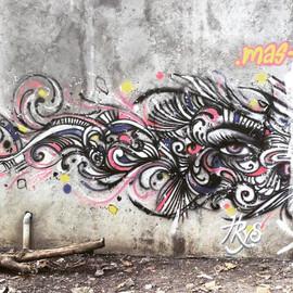 Mural at Jogjakarta
