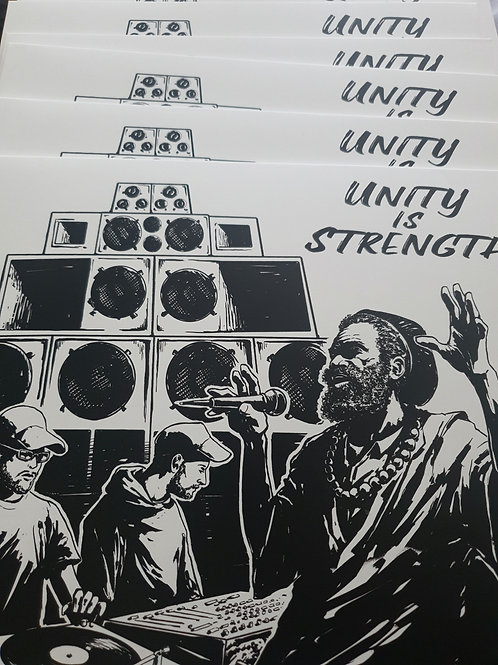 UNITY IS STRENGTH DUB JUDAH MYSTICAL POWA  4 WEED RECORDS