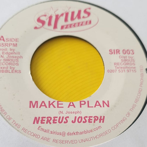 MAKE A PLAN NEREUS JOSEPH
