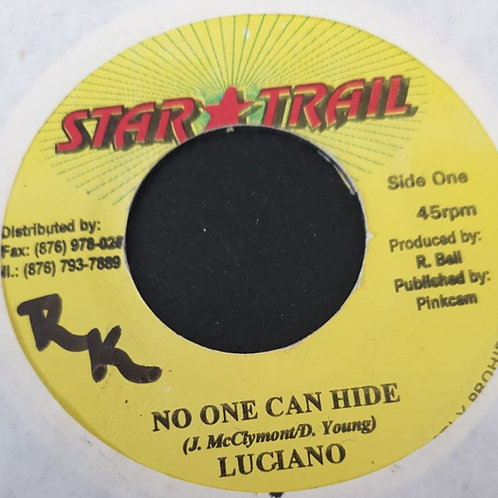 NO ONE CAN HIDE LUCIANO