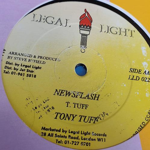 NEWSFLASH TONY TUFF