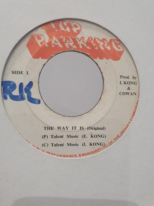 "THE WAY IT IS I KONG AUGUTUS PABLO TOP RANKING 7"""