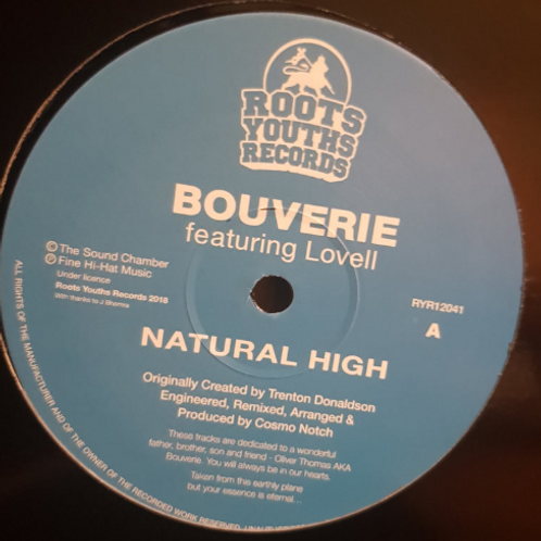 BOUVERIE - NATURAL HIGH