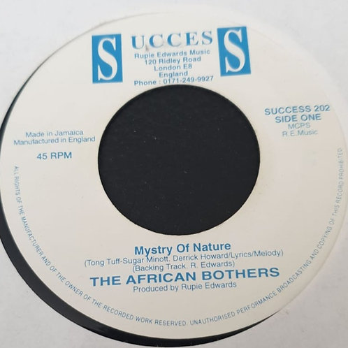 The African Brothers / Rupie Edwards – Mystry Of Nature / I'm Gonna Live Some