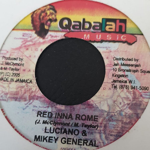 RED INNA ROME LUCIANO AND MIKEY GENERAL