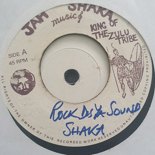 "ROCK TO THIS SOUND JAH SHAKA 7"""