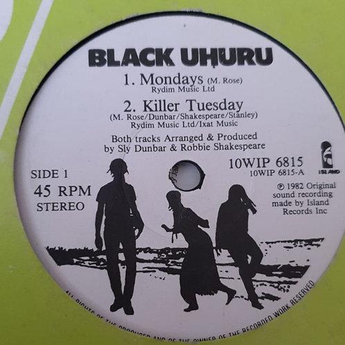 MONDAYS BLACK UHURU