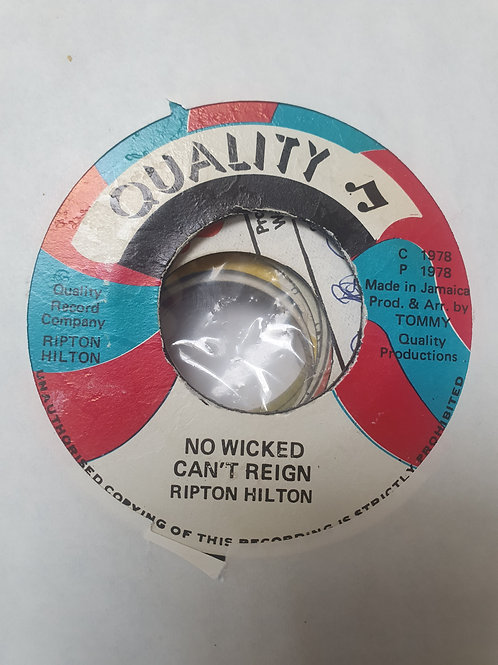"""NO WICKED CAN'T REGIN EEK A MOUSE ORIGINAL QUALITY 7"""""""
