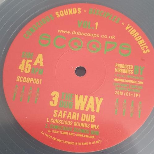 SAFARI DUB COSNCIOUS SOUNDS VIBRONICS DISCIPLES