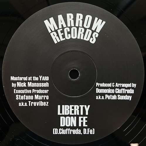 LIBERTY DON FE PETEH SUNDAY MARROW RECORDS 10""