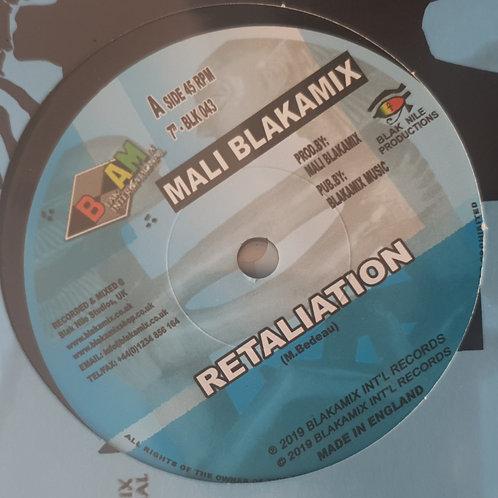 "RETALIATION MALI BLAKAMIX 7"""
