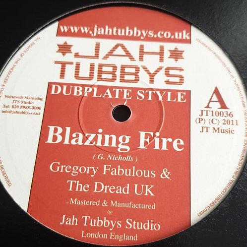 BLAZING FIRE GREGORY FABOLOUS