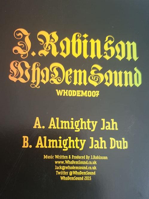 ALMIGHTY JAH J ROBINSON WHODEMSOUND