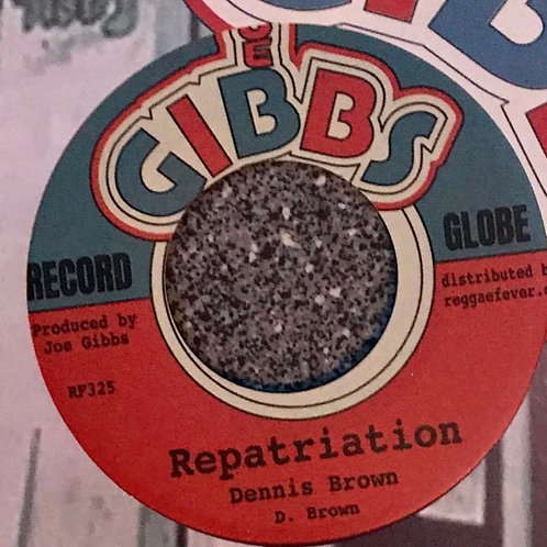 REPATRIATION DENNIS BROWN