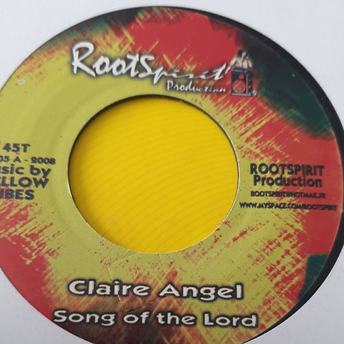 CLAIRE ANGEL SONG OF THE LORD