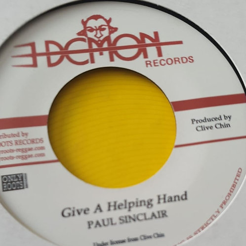 GIVE A HELPING HAND PAUL SINCLAIR