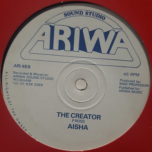 THE CREATOR AISHA ORIGINAL ARIWA 12""