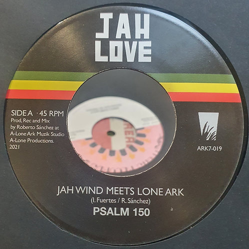 PSALMS 150 JAH WIND MEETS LONE ARK RECORDS