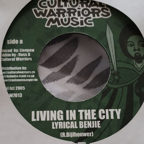 LIVING IN THE CITY LYRICAL BENJIE