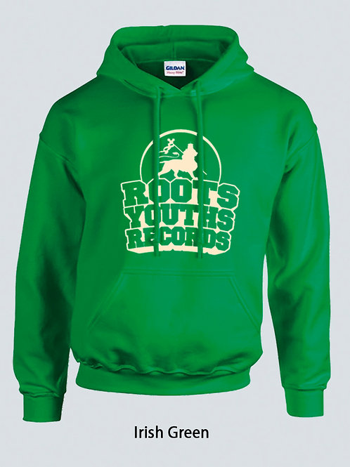 IRISH GREEN ROOTS YOUTHS RECORDS HOODY