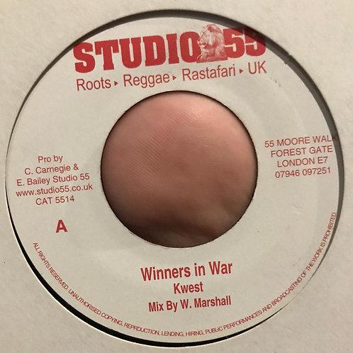 WINNERS IN WAR KWEST