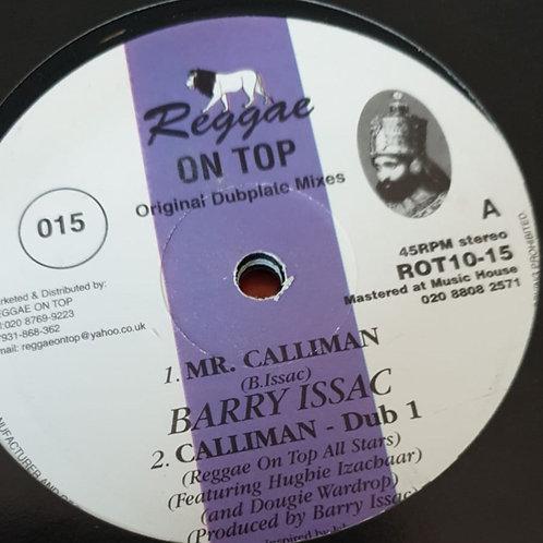 MR. CALLIMAN BARRY ISSAC