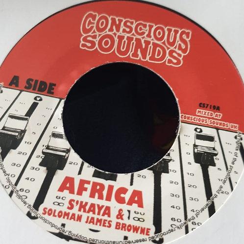 AFRICA S`KAYA AND SOLOMAN JAMES BROWNE